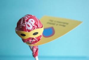 Superhero Valentine